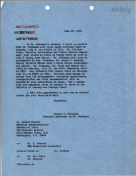 President's papers - Robert S. McNamara Chronological files - (outgoing) - Chrons 01