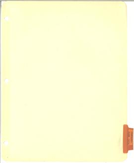 Hollis B. Chenery Papers - McNamara Discussions - Notebooks / Memoranda - 1974 (April - June)