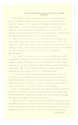 Irving Friedman UNCTAD Files: New Delhi Meeting, February 1 - March 25, 1968 - Documents