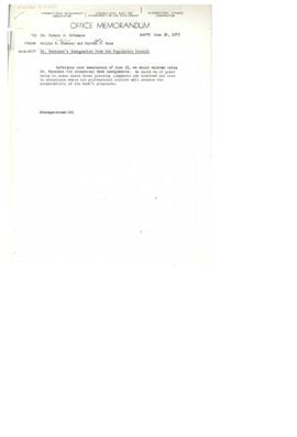 Hollis B. Chenery Papers - McNamara discussions / notebooks / memoranda - 1973 (May - June)
