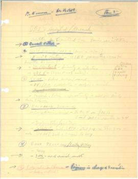 Hollis B. Chenery Papers - McNamara discussions / notebooks / memoranda - 1980 (September - Decem...